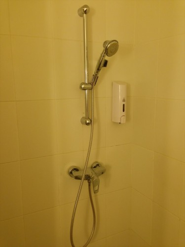 イビス ヴィエンチャン ナム プー ホテルの客室内にあるバスルームです。 浴槽はありません。
