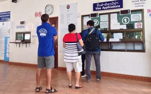 タイの観光ビザをラオス・ビエンチャンで取得する方法 2017年