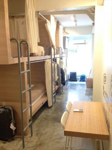 男女共用ドミトリー (Mixed Dormitory Room)
