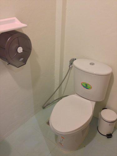 客室内にあるバス&トイレ。