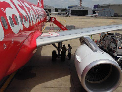 FD1040便-搭乗記-エアアジア-タイ・バンコクからラオス・ビエンチャン-直行便