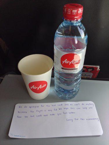 客室乗務員さんから-搭乗記-エアアジア-タイ・バンコクからラオス・ビエンチャン-直行便